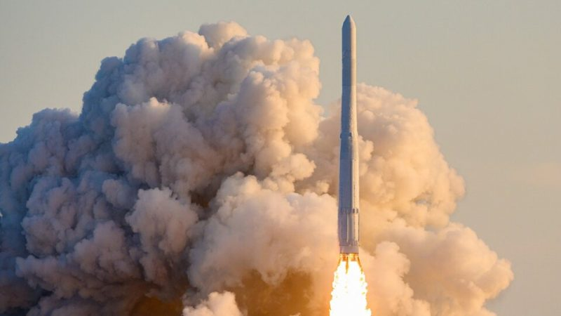 South Korea launched the first domestically made space rocket |  Only six countries were able to launch one-tonne shipments with their own missiles