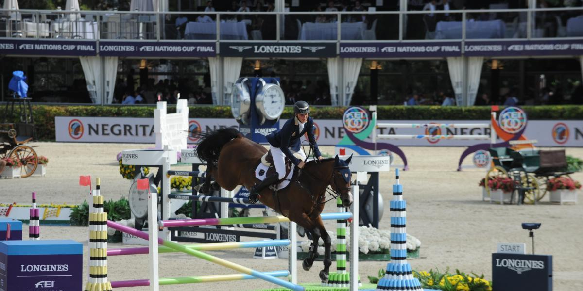 Spain reached the Grand Final of the Jumping Nations Cup for the first time