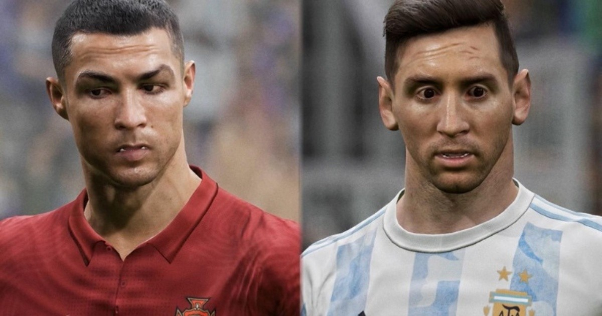 Terrible debut: As memes spread across Messi and Ronaldo's faces, eFootball received stinging criticism after its launch