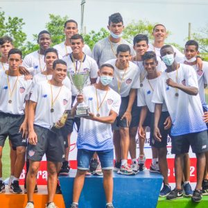 The U-17s won the 2021 Caribbean Cup