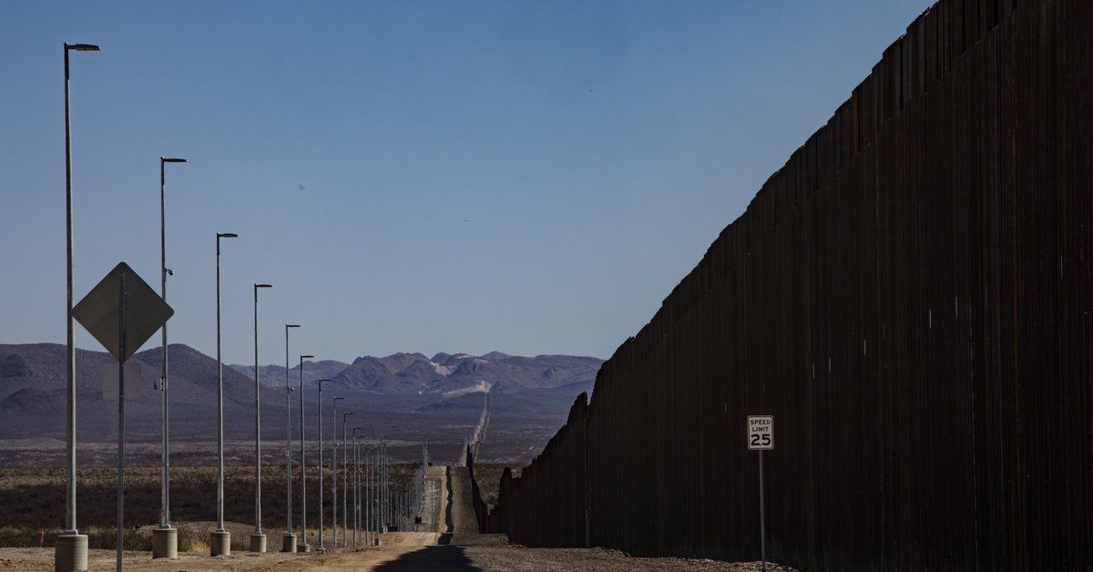 The United States will stop building the wall on the border with Mexico that Donald Trump started