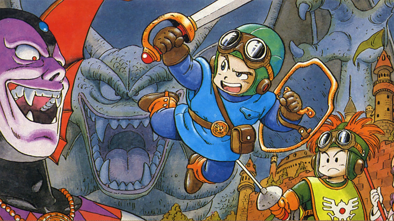 The authors of Dragon Quest 2 were too busy to pass it on