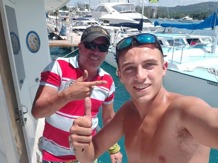 Renzo Spasciano was part of the crew of the yacht that traveled to Haiti to provide humanitarian aid.